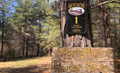 Stomp Mill Powder House on the Gold Hill Rail Trail