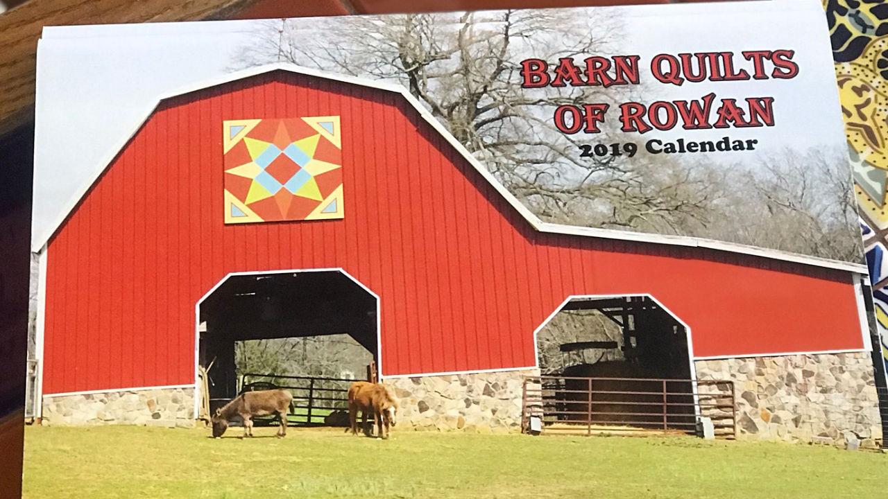 Barn Quilt of Rowan 2019 Calendar