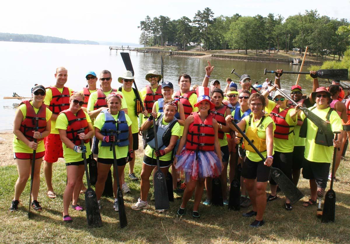 Dragon Boat Race Competitors