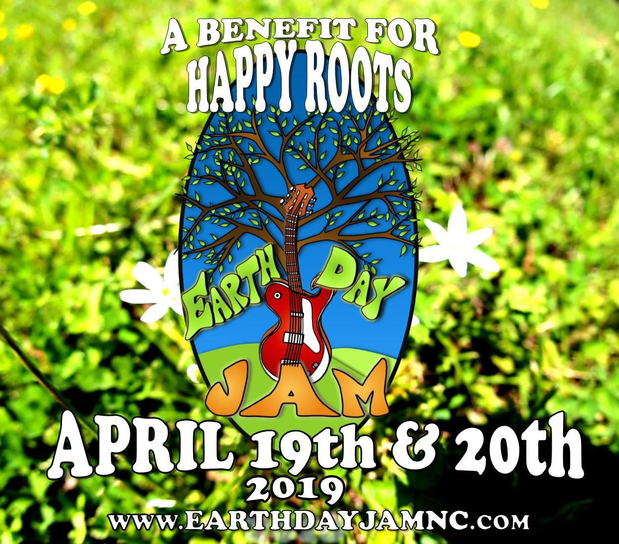 Happy Roots Earth Day Jam 2019