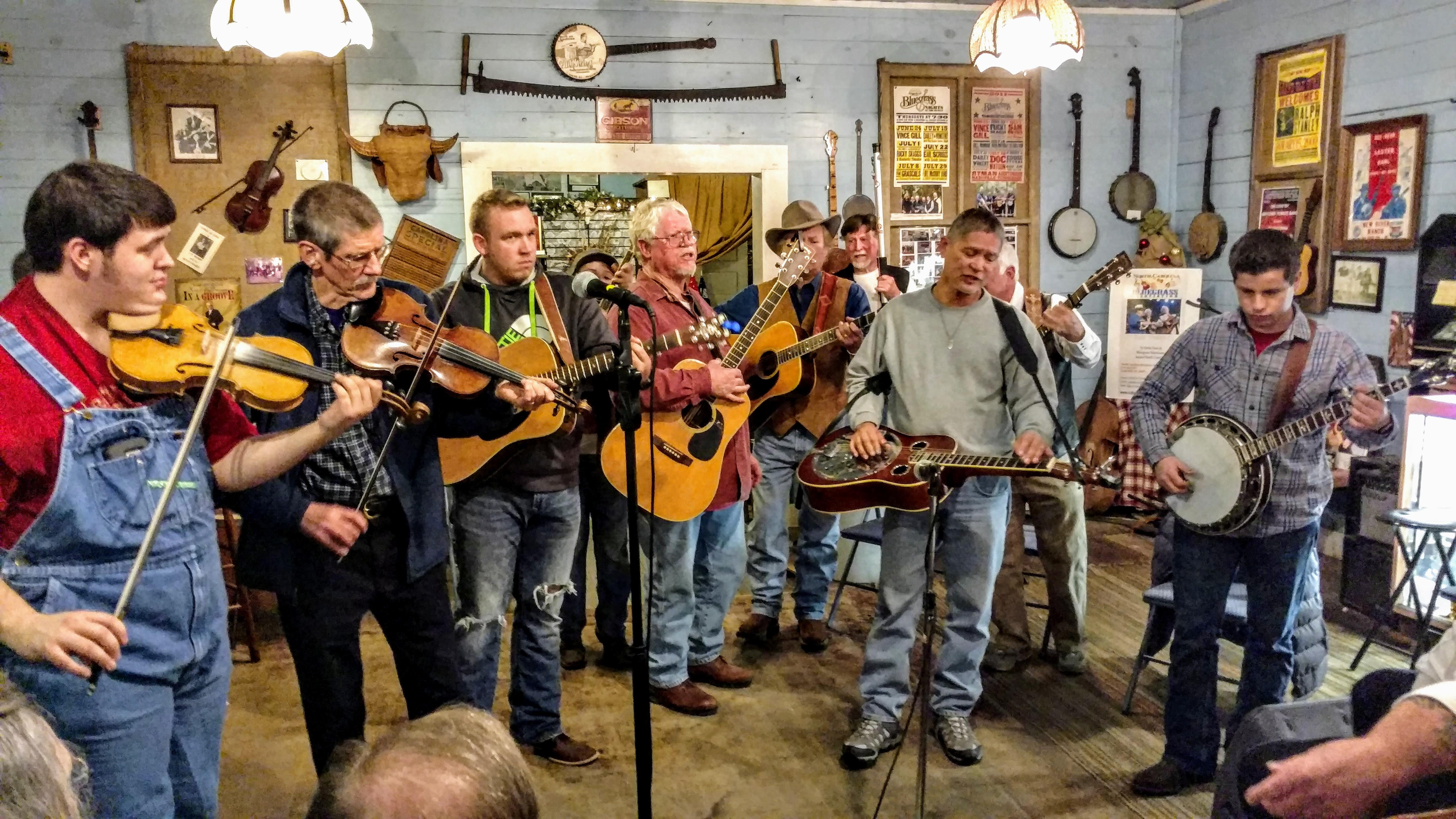 Montgomery Store Bluegrass Jam