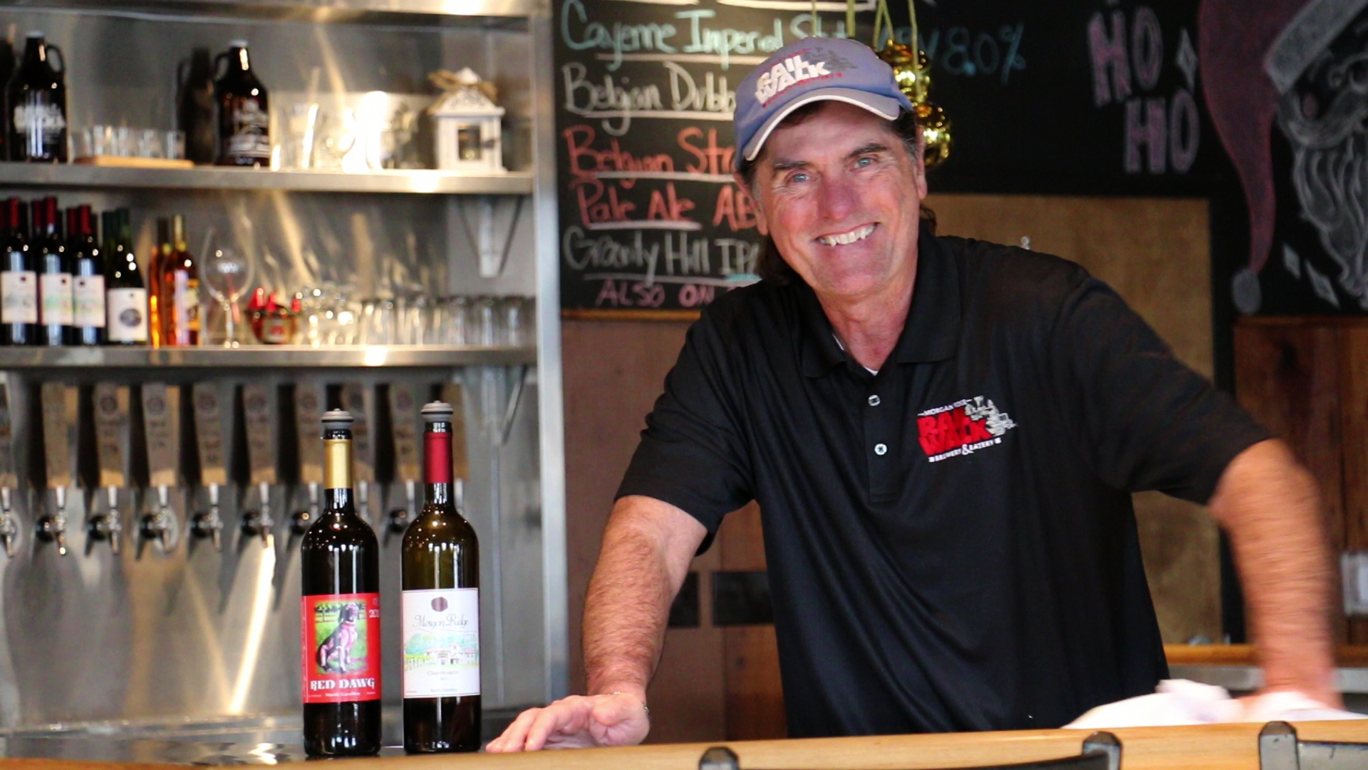 Tommy Baudoin, owner of Morgan Ridge Vineyards