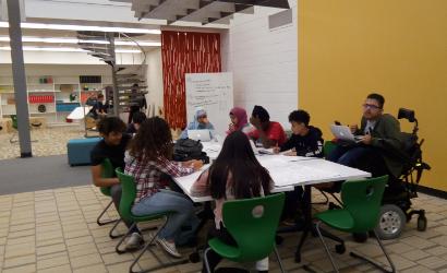 Design Lab at North Rowan High School
