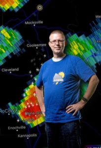 Steve Monday, Chief Forecaster at Rowan County Weather