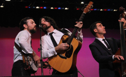 Avett Brothers at the 2016 Induction Ceremony