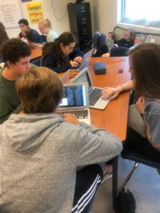 RSS students using personal laptops for learning