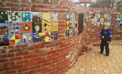 Salisbury Cotton Mills, Public Arts Installation