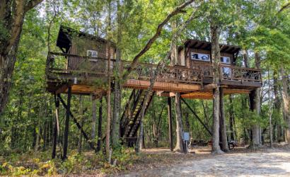 Big Nick tree house resort rowan county