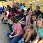 Southeast Middle School Best Buddy volunteers