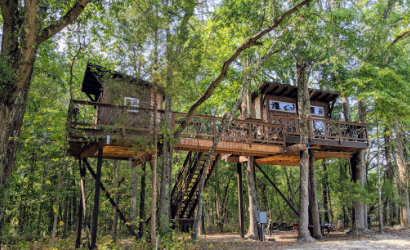 Treehouse at Cherry Treesort in southern Rowan County.