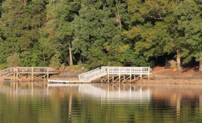 dock at High Rock Lake