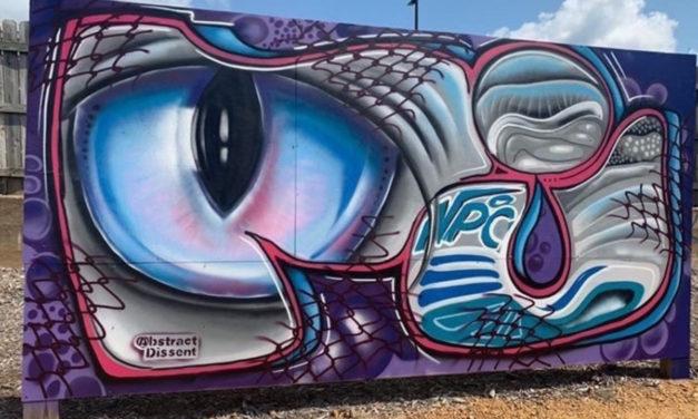 Graff Park Paint Jam Raises Money & Downtown Vibrancy