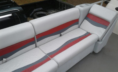 The Traveling Stitch, a custom auto and marine upholstery company