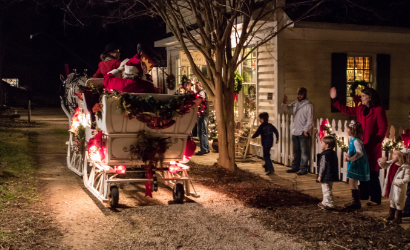 Christmas in the Village in Gold Hill, NC