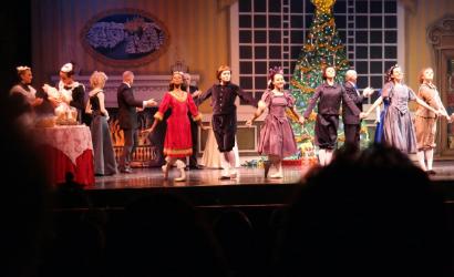 Piedmont Dance Theatre's annual production of the Nutcracker Ballet.