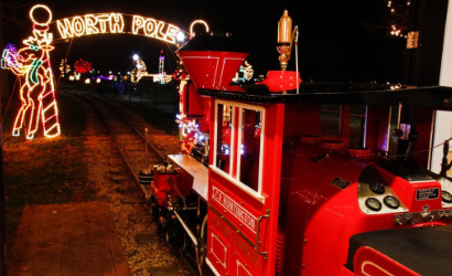 The Winterland Express in Village Park in Kannapolis, NC
