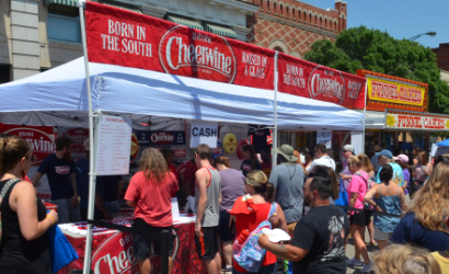 Cheerwine Festival this past summer in downtown Salisbury