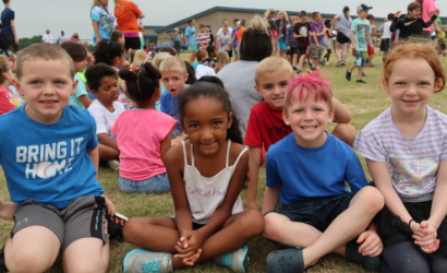 West Rowan Elementary students happy to be learning in Rowan County