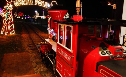 Take a ride on the Winterland Express!