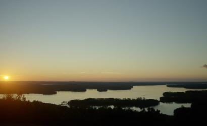 Views of High Rock Lake