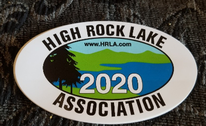 NEW High Rock Lake Association stickers for 2020
