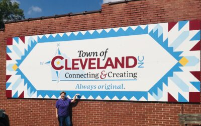 Tale of a Barn Quilt Trail in Cleveland, North Carolina